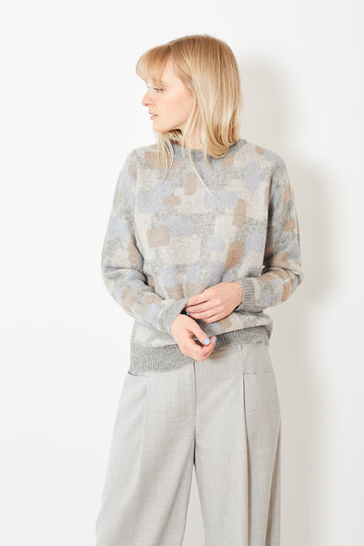 Peserico Jacquard Pullover Sweater