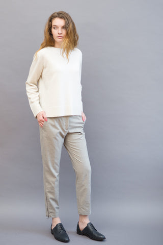 Peserico Pant With Ankle Zip