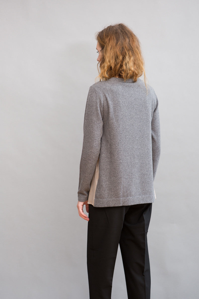 Peserico Silk Side Insert Sweater