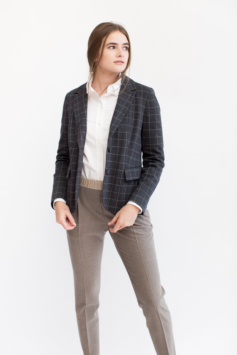 Peserico Windowpane Jacket