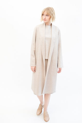 Peter Cohen Fold Coat Double Knit