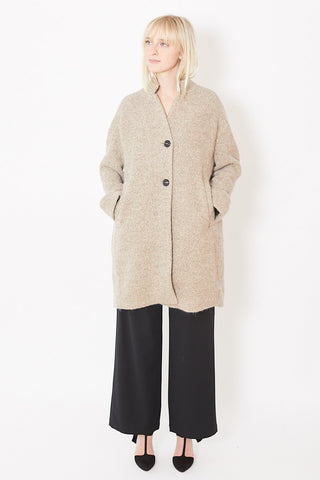 Pomandere Collared Cardigan Sweater