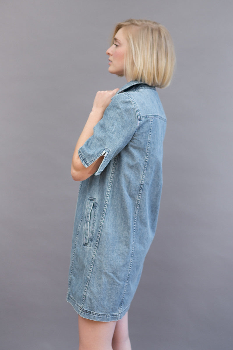 Public School Dalia Denim Dress