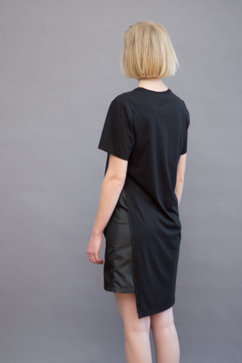 Public School Kisa Double Layer Tee Dress
