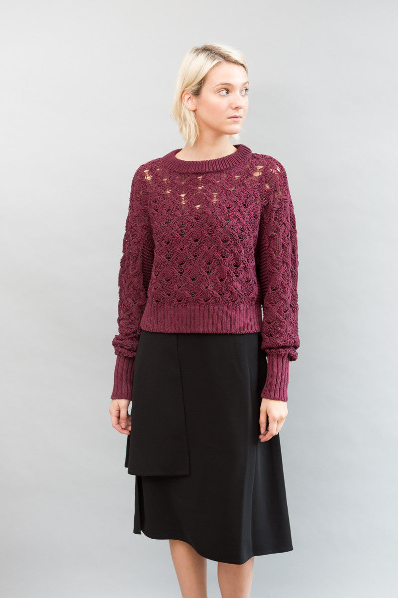 Public School Seed Stitch Cable Pullover - grethen house