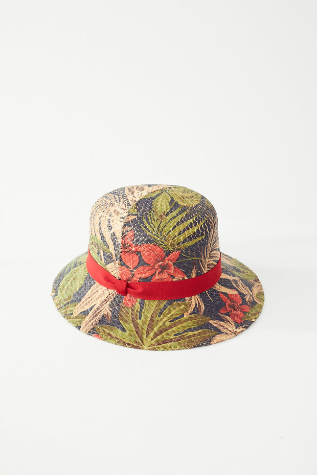 Raffaello Bettini Printed Cloche