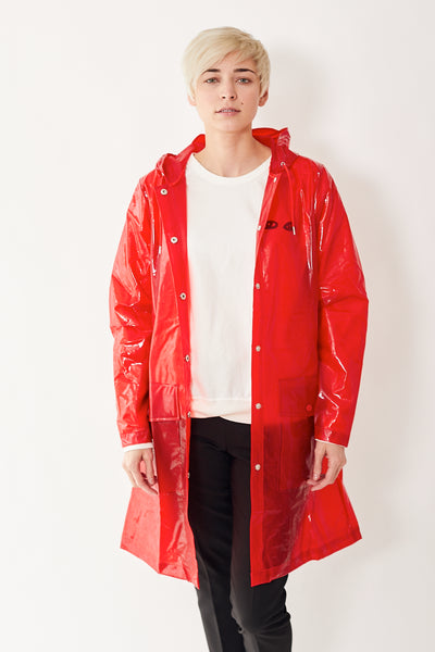 Rains Transparent Belt Jacket