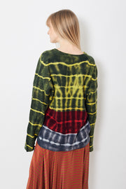 Raquel Allegra Boxy V Neck Sweater