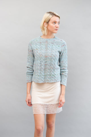 Raquel Allegra Cable Knit Pullover - grethen house