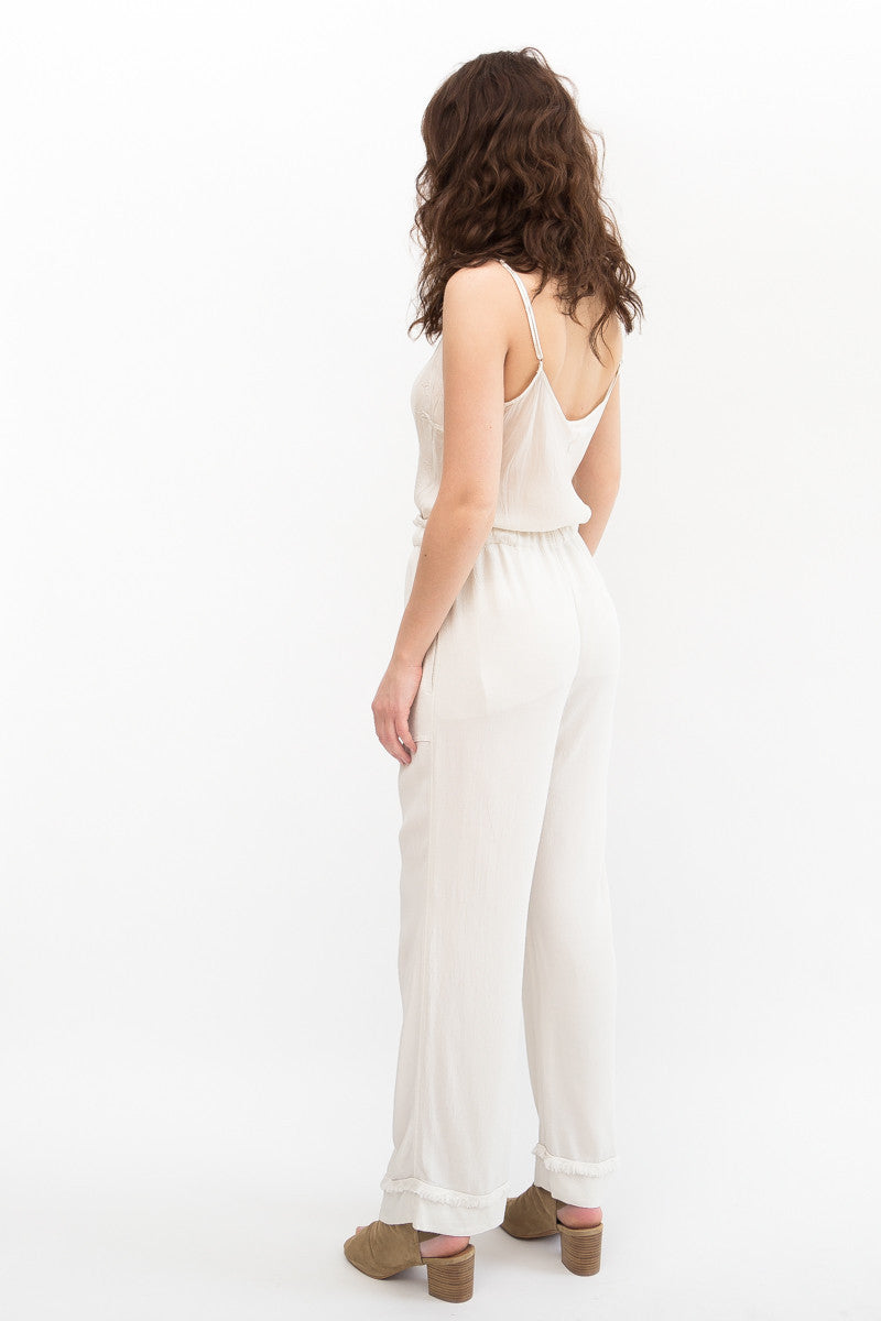 Raquel Allegra Cropped Flare Pant