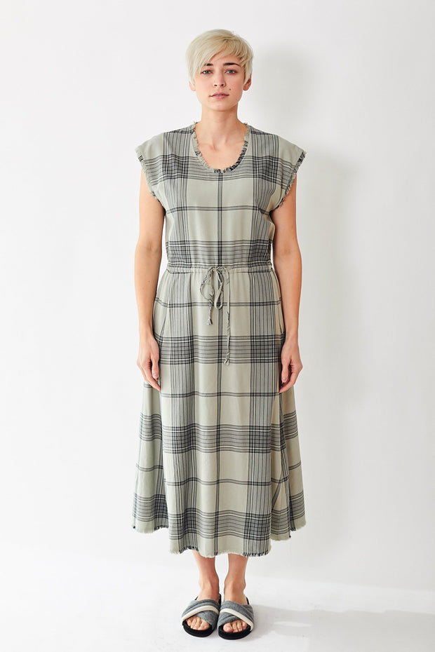 Raquel Allegra Drawstring Dress