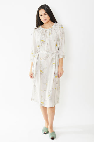 Raquel Allegra Gather Neck Dress