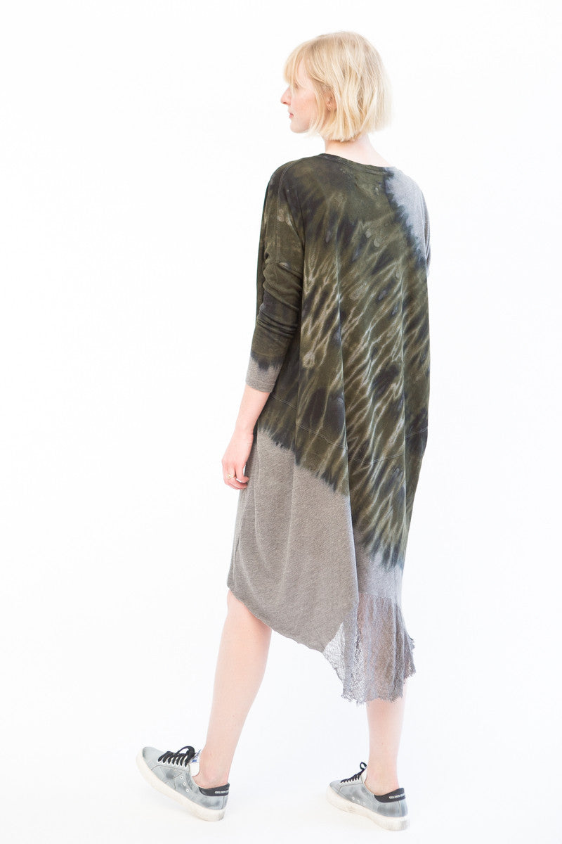 Raquel Allegra Oversize Dress Tie Dye