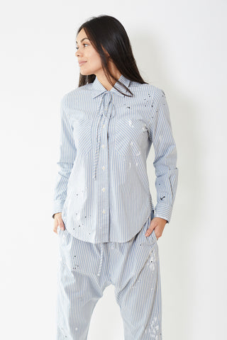 Raquel Allegra Bolero Workshirt Paint