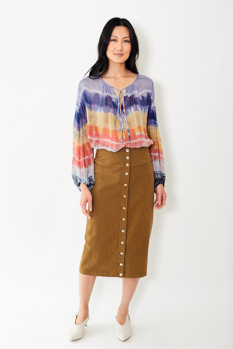 Raquel Allegra Pencil Skirt
