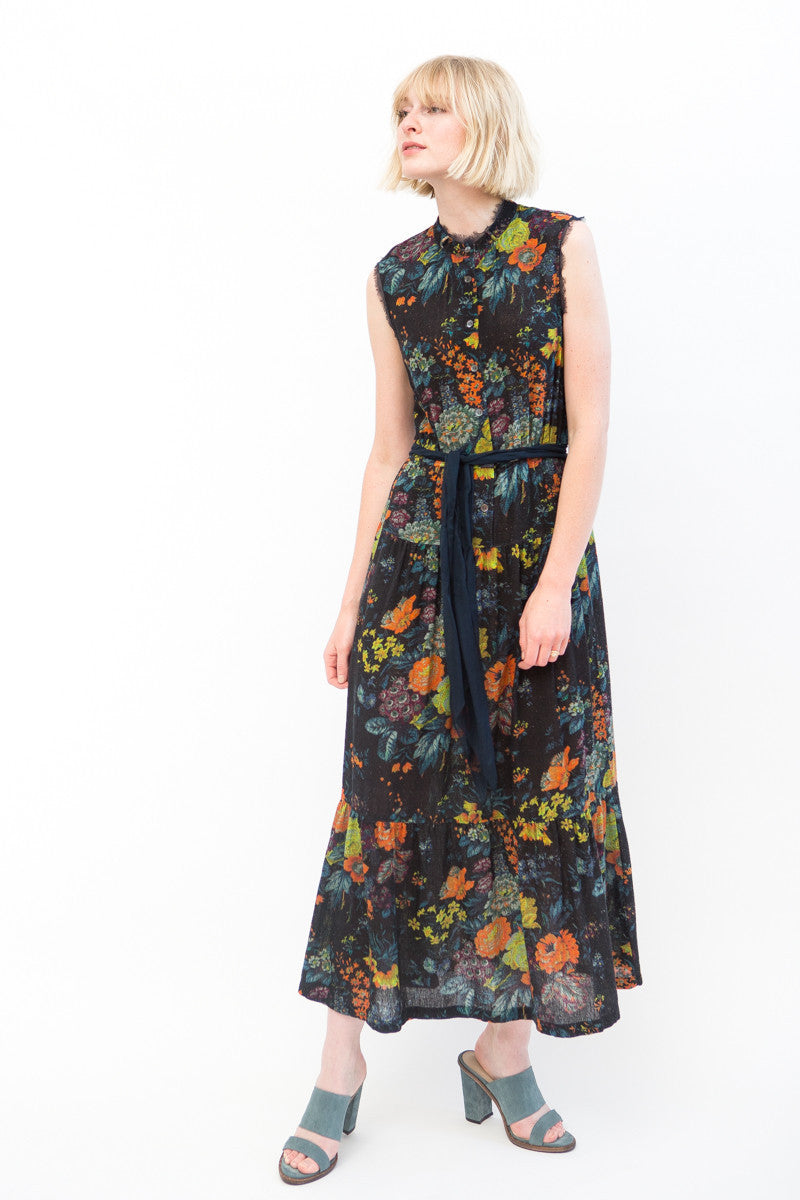 Raquel Allegra Prairie Maxi Dress