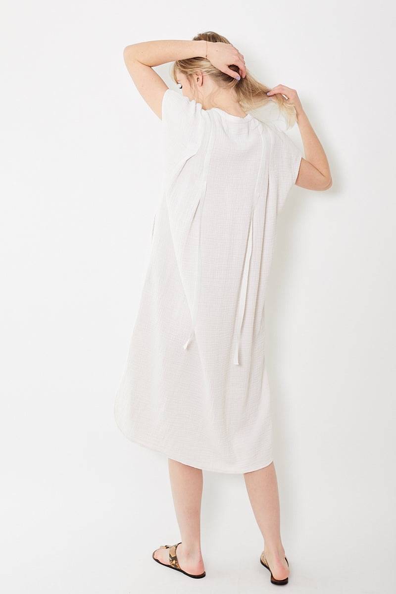 Raquel Allegra Ribbon Duster Dress