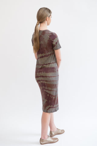 Raquel Allegra Short Sleeve Dress Tie Dye