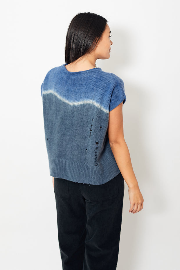 Raquel Allegra Tie Dye Square Top