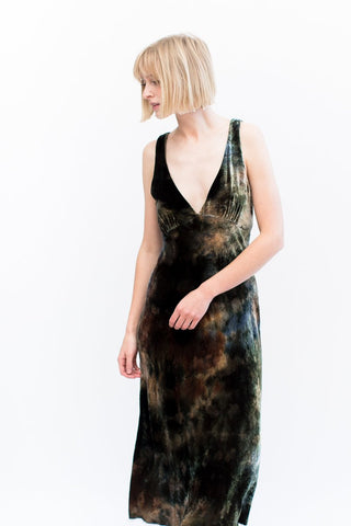 Raquel Allegra Velvet Tulip Dress