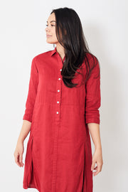 Rosso35 Shirt Dress w/ Slits