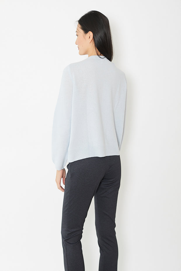 Rossopuro Ribbed Front Plain Back Sweater