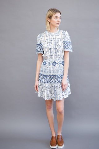 Sea NY Emma Pintucked Day Dress