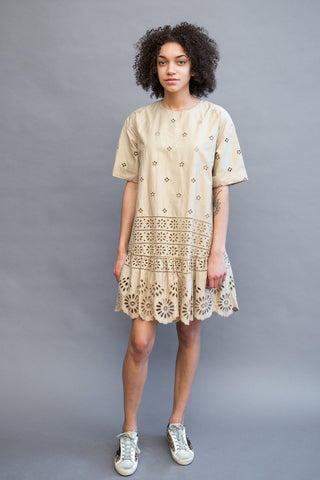 Sea NY Exploded Eyelet Dress