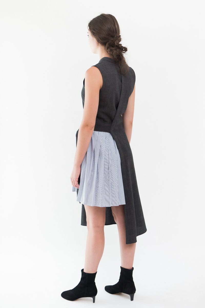 Sea NY Half Pleated Phantom Dress