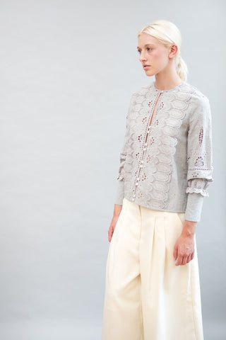 Sea NY Long Sleeve Blouse - grethen house