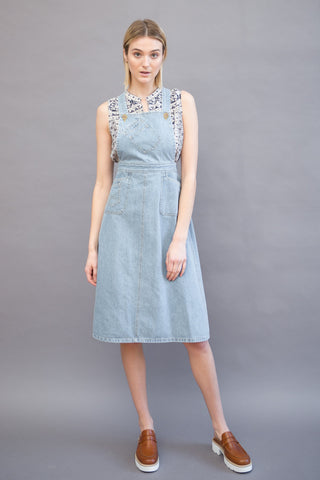 Sea NY Paper Doll Apron Dress