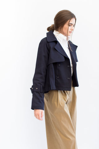 Sea NY A-Line Knee Length Bomber