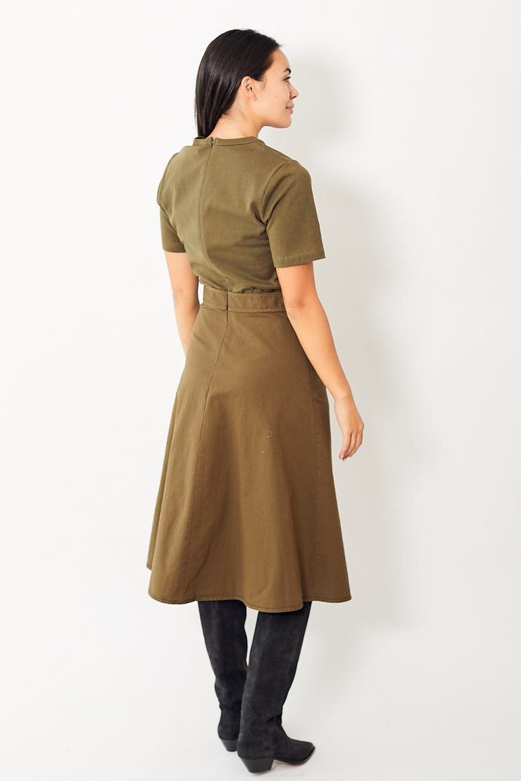 Sea NY Scout Tie Waist Dress
