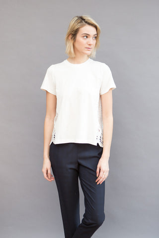 Sea NY Soft T With Eyelet Back