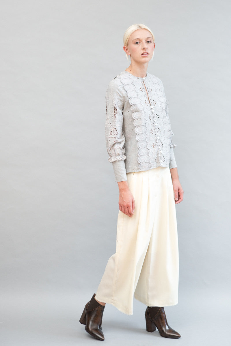 Sea NY Stitched Down Pleat Pant - grethen house