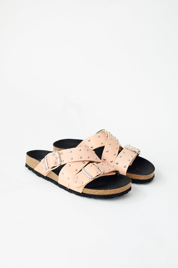 Shoe The Bear Cara Cross Studs Sandal