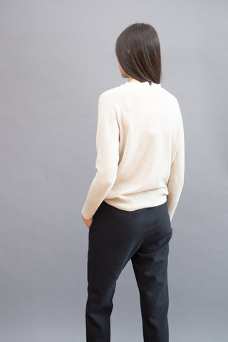 Sibel Saral Long Sleeve Crew Stretch Neck