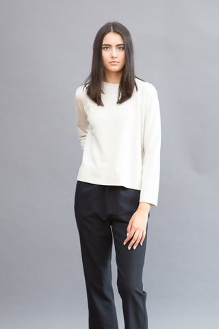 Sibel Saral Long Sleeve Cropped Sweater - grethen house