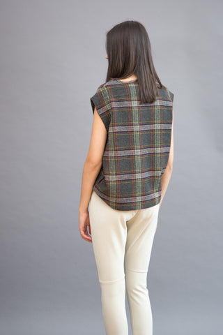Sibel Saral Sleeveless Top With Pockets - grethen house