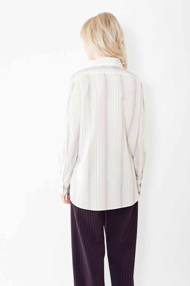 Sies Marjan Sander Striped Poplin Shirt