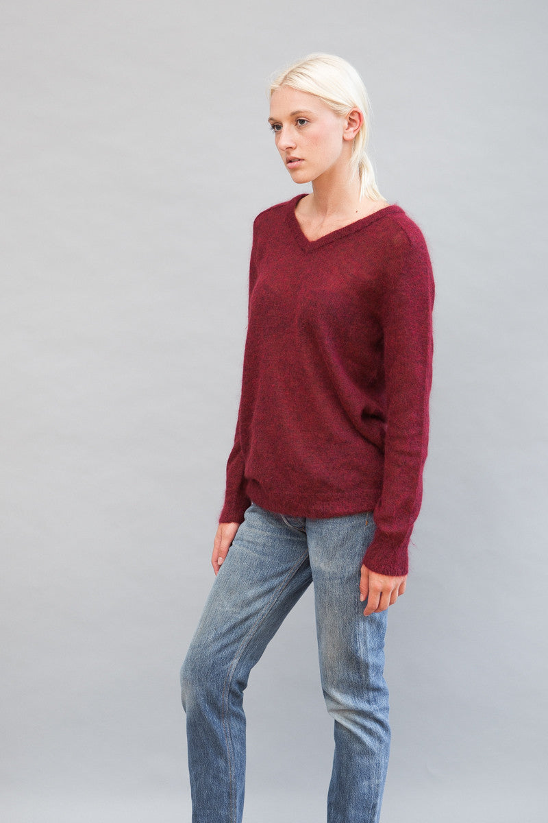 Simon Miller Faro V Neck Sweater - grethen house