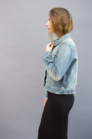 Simon Miller Zola Trucker Jacket Deconstructed - grethen house