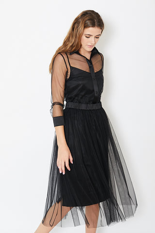 Natalija Jansone Sheer Dress w/ Slip