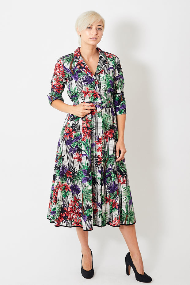 Smarteez Long Shirtdress w/ Belt