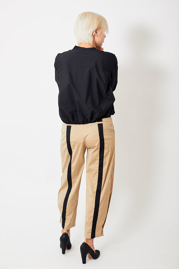 Smarteez Snap Hem Trousers w/ Back Stripes