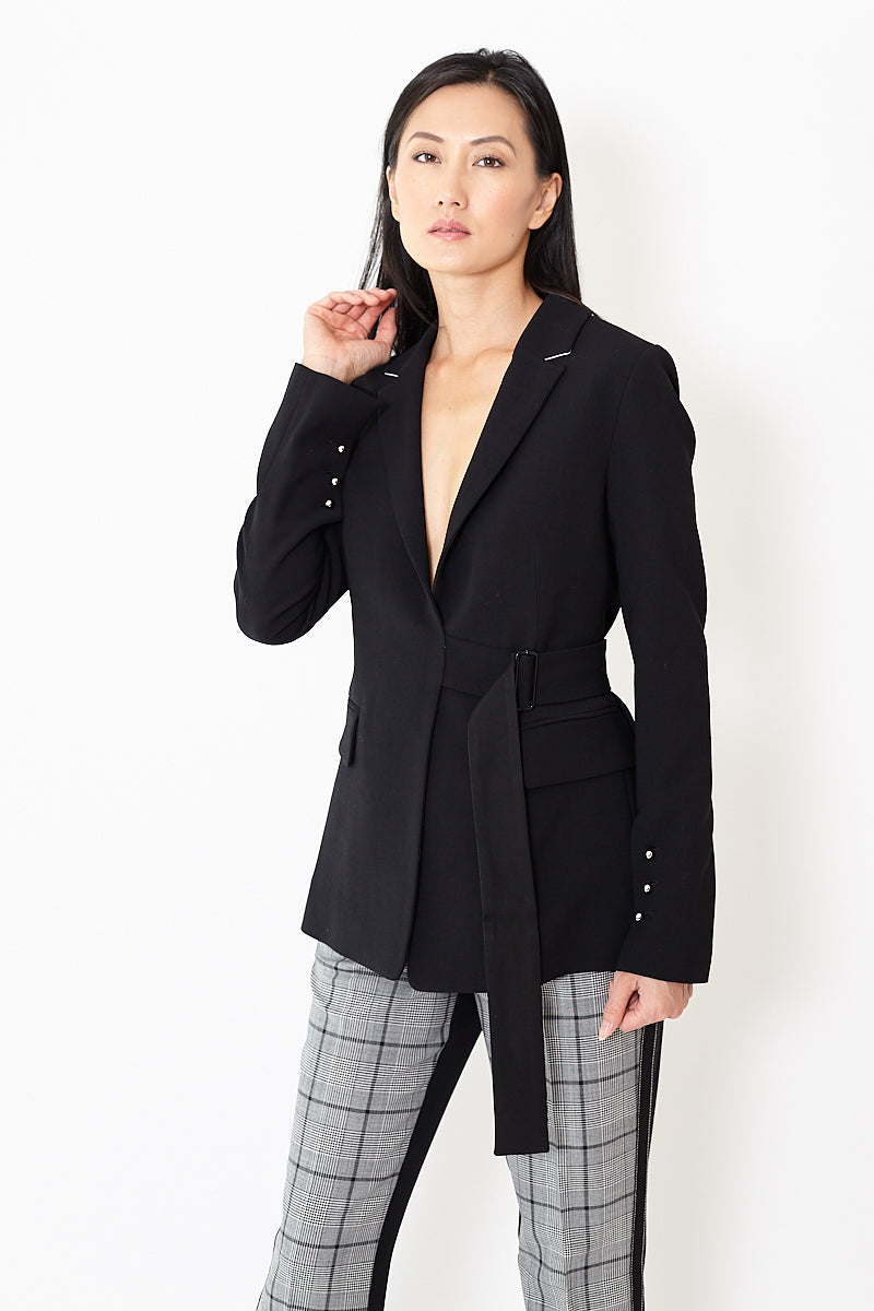 Smarteez Open Back Blazer Jacket