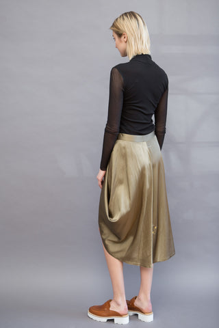 MM6 Maison Margiela Full Skirt W/ Snaps