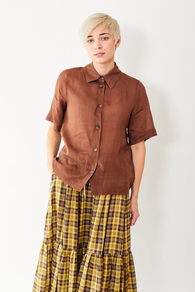 Tela Pompelmo Short Sleeve Shirt
