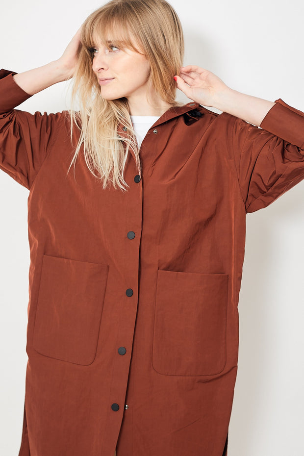 Tela Qwait Jacket Rust
