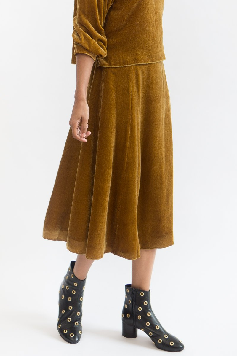 Tomorrowland Flave Skirt Velvet